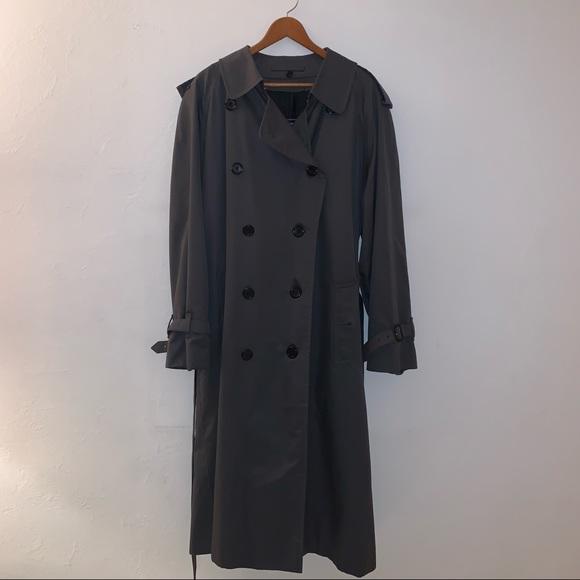 men's burberry trench coat size xl